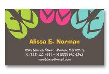 визитки / business card