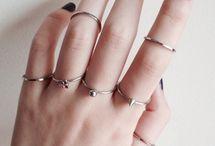 Rings&nail art