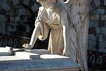 Statuen,Engel