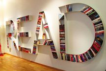 Books Make A Sexy Home ;) / From children's, minimal and modern through shabby-chic, recycled and vintage-looking to cardboard, planet-loving ones, creative bookshelves collections around the world.