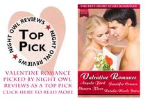 Valentine Romance / Valentine Romance: The Best Short Story Romances is a collection from four best-selling authors all giving the reader their spin on Valentine's Day romance. The stories range from jalapeño hot New Adult romance, Just in Time, Valentine, to sweet and light contemporary Valentine Promise, to romantic suspense, Surrender, and finally, chic-lit Love Potion Number 10.