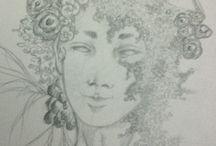 "my draw / My draw and ""art"" :)"
