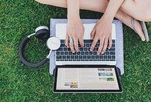 デスクセットアップ / Satechi商品によるホームオフィスやモバイルオフィスなどのデスクセットアップ。