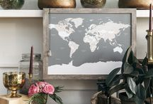 Our Prints & Maps / We heart-make custom prints & travel maps with love, care & salty air on the East Coast of Canada!