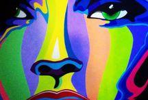 My Artworks / Sanat Çalışmalarım / Tuval üstüne yaptığım sanat çalışmaları. / My artworks on on canvas.