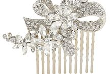 Wedding Hair Combs / We have hair combs to suit every style. Contact us here http://www.happyweddingday.co.uk/pages/contact-us  if you would like to take advantage of our 1-1 online personal shopping service and we can help you create the look you dream of
