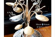 Silverware repurposed / by Kathie Aiello
