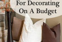 Decorating on a budget / by Carol Wright