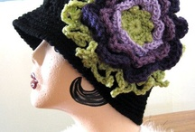 Freeform hat, scarf...