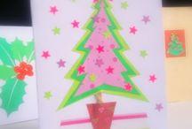 Christmas Tree / Handmade cards