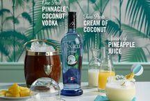 Pinnacle® Vodka Welcome to Paradise / Best served with beach balls, bikinis and boardwalks. Whether you're on vacation or having a staycation, Pinnacle®  Vodka has a flavor for every reason you 