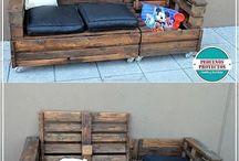 Καναπές από παλέτα