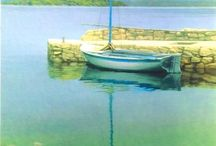 Žilić's art- Croatian hyperrealistic painter / Davor Žilić - a painter of Croatian seascapes and landscapes, and much much more, in a hyper-realistic style, mainly oil on canvas.