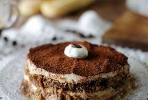 Dessert tiramisù ricotta e yougurt