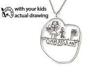 Kids drawings jewelry