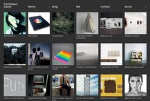 WP PHOTO FREE THEMES∞ / Foto blog interfaces design samples