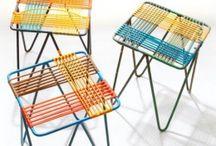 wyplatane krzesła