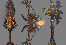 Weapons / A collection of weapons and weapon concepts I like.