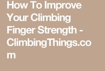 Workout for climbing