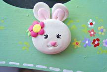 Hippity, hoppity down the bunny trail / by Jessie Partridge