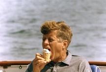 President John F. Kennedy / by Barbara Jasin (Crackers)