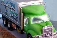 Kamion torták