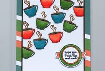 PKS Sips, Eats and Sweets Card Ideas / Get inspired with delicious projects featuring food and drinks! Peachy Keen Stamps makes a wide variety of faces and phrases that are the perfect compliment to your SVG or die-cut cards, layouts, and 3D projects. Stamp an expression to create a delightful greeting that will bring joy to your friends and family! Personalize your projects with a wide variety of high-quality clear stamps in hundreds of designs. Coffee, Kitchen, Baking, Dining, Tea, and more!