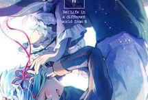 """Re zero kara hajimeru isekai seikatsu / ~ """"I guess fate is a compelling force, too.."""" ~"""