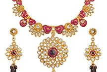 Bollywood Designer Katrina Kaif Inspired Inspired Kundan Necklace Set