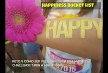 Happiness Bucket List: Cómo ser feliz