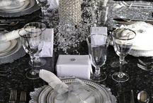 Tavola Capodanno / idee e tavolo per festeggiare l'arrivo del nuovo anno