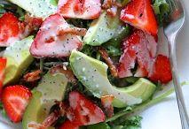 Salads / by Stephanie Bowen