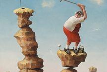Golf kunst