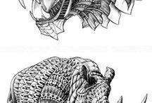 Tattoo animais