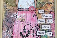 She Art/Mixed Media