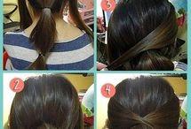 Peinado Mujer facil