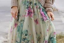 Modely so sukňou