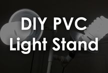 DIY Photography stands