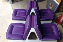 Marine Upholstery / Upholstery ideas and designs for boats.