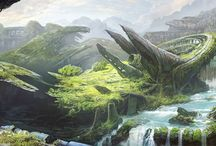 Art & Design / Examples of concept art and design.