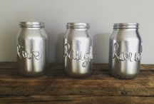 DIY JAR IDEAS / Jar ideas DIY, flowers, painting...