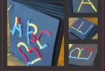 Preschool Alphabet Ideas / by Tina Peterson
