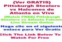 {Ver GRATIS} Pittsburgh Steelers vs Halcones de Atlanta en Vivo | NFL