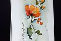 .watercolour cards