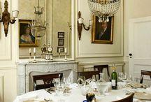 Preciosa table and chandelier culture