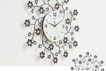 Wall clock / いろんなデザインの壁掛け時計を集めてみました! / by Original design momu K.Isagawa