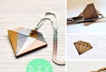 Diy  / Diy diamond necklace