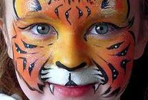 Face Payting Tiger