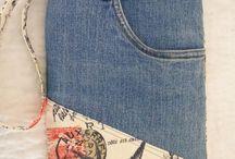 bolsas recicladas jeans