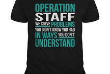 Staff clothes